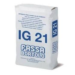 FASSA IG 21 BIANCO DA KG.25