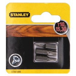 INSERTI X VITI MISTO PH + SL MM25 PH1-2-3+SL4-6-7.2 ( 6 PZ ) - STANLEY