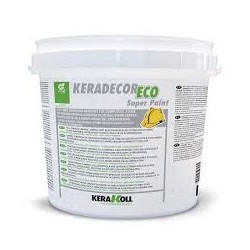 KERADECOR ECO SUPER PAINT 1001 LT. 4 SUPERLAVABILE BIANCO