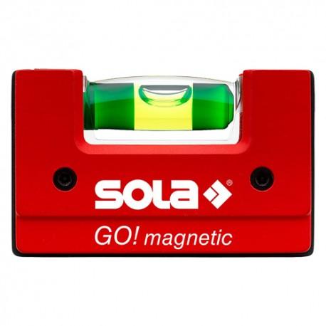 LIVELLA COMPATTA MAGNETICA CM 6,8 1 BOLLA- SOLA GO MAGNETIC