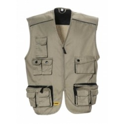 LOGICA GILET MULTITASCHE SAFARI 2 TG. XL