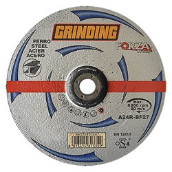 MOLA ABRASIVA 115*6 F.22 A 24R 'FORZA GRINDING'