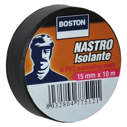 NASTRI ISOLANTI 19X25 NERO BOSTON