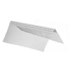 PARASPIGOLO ANGOLARE PVC 10*10 C/RETE CM 250 CF 125 ML