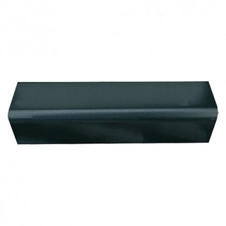 PARASPIGOLO ORNAMENTALE CM.3*3*290 'LISCIO' PVC NERO