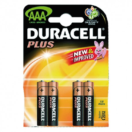 PILE DURACELL MN-2400 B4 MINIST 'PLUS POWER'