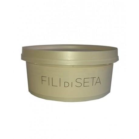 PITTURA EFFETTO SABBIA FILI DI SETA DA LT.2,50