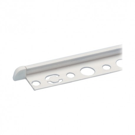 PROFILI PVC BIANCO PER PIASTRELLE DA 10 MM MT.2.50