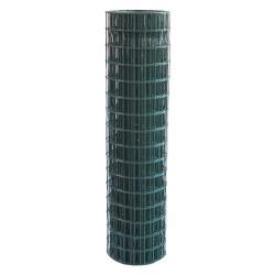 RETE ELETTR.PLASTIF. H.100 X MT.25 75X50 VERDE