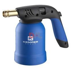 SALDATORE A GAS ACCENS.PIEZO C/BLOCCO CARTUCCIA 'KEMPER'