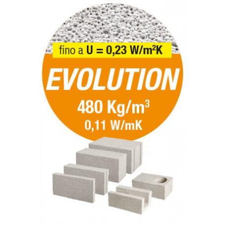BLOCCO CEM.CELLULARE 30X25X60 (BC 3,60 MQ)