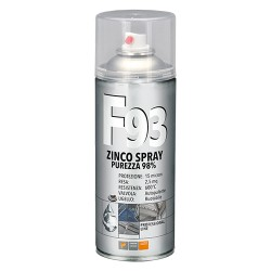 SMALTO SPRAY ZINCO 98% PROFESSIONALE 'F93-FAREN'