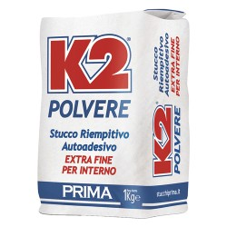 STUCCO 'K2' IN POLVERE KG.20 X INTERNI