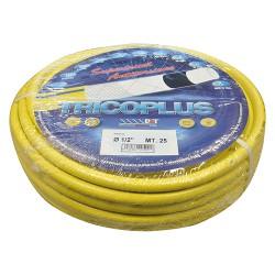 TUBO PVC RETIN.MAGL. G/B 19X25 MT.' TRICOPLUS' 3/4 6 STRATI