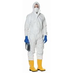 TUTA DA LAVORO BIANCA TG. XXL 'ECO' PROTECTION LINE TIPO 5/6 LIGHT800