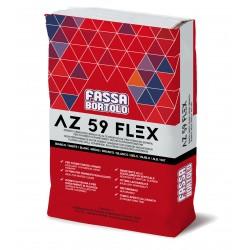 AZ 59 FLEX COLLANTE BIANCO KG 25 C2TES1