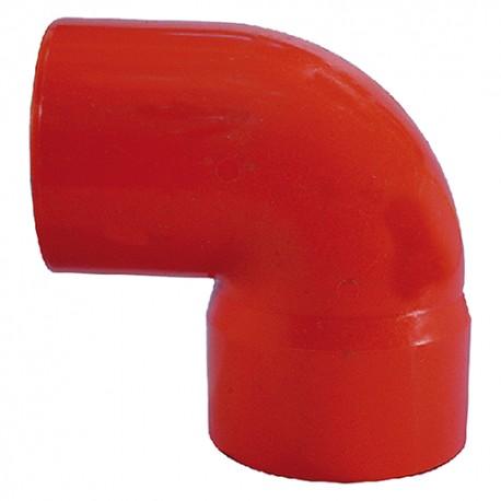 CURVA 87/30 DA 40 IN PVC