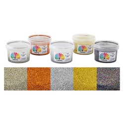 GLITTER MULTICOLOR 250 ML. IN EMULSIONE X DECORAZIONI