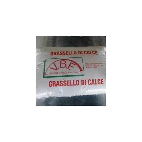 GRASSELLO DI CALCE IN SACCHI
